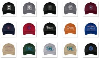 Recovery Themed Hats