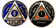 Anniversary Tri-plated AA medallions
