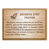 AA 7th Step Prayer Engraved Plaque
