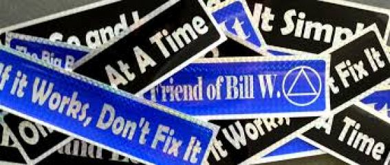 Recovery Bumper Stickers