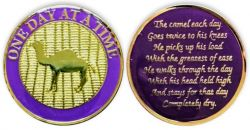 Purple AA Camel Coin