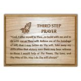 AA 3rd Step Prayer Engraved Plaque