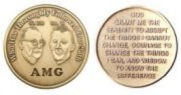 Engraved Founders Medallion