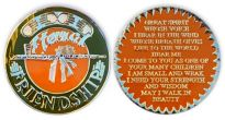 Eternal Friendship Medallion with Great Spirit Prayer