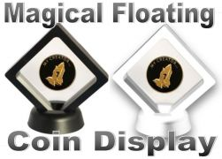 Magical Floating Recovery Coin Display