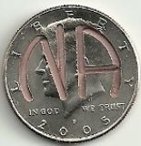NA Milestone Coin with selection of year