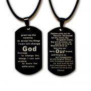 Recovery Prayers Necklace