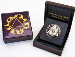 Sunlight of the Spirit AA Coin Presentation-Display Box