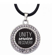Unity Service Recovery Pendant Necklace